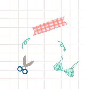 make bra without sewing